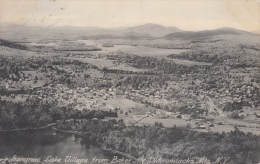 CPA ETATS UNIS / SARANAC LAKE VILLAGE FROM BAKER Mt ADIRONDACKS Mts, N.Y. / 1903 - Adirondack