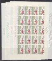 Liechtenstein 1988 Olympic Sommergames 4v Sheetlets ** Mnh (F3199) - Summer 1988: Seoul
