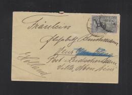 Dt. Reich Brief Steele Ruhr Nach Holland - Deutschland