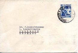 YOUGOSLAVIE. N°595 De 1952 Sur Enveloppe Ayant Circulé. Imprimerie. - 1945-1992 République Fédérative Populaire De Yougoslavie