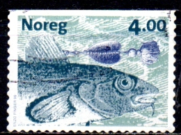 NORWAY 1999 Fishes And Fishing Flies - 4k Cod And Fly FU - Norwegen
