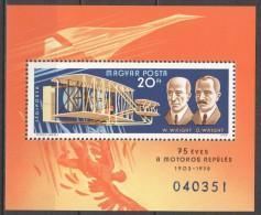 Hungary 1978 Mi Block 129A MNH AIRPLANE - FDC