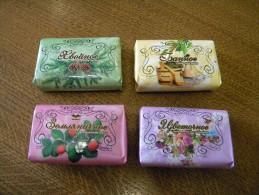RUSSIA Toilet Soap Set Of 4 Pcs X 75 Gramm - Beauty Products