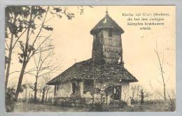 AK Serbien Gluci 1917-01-25 Foto Kirche J.Bellinger - Serbie
