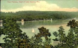 NEAR FONTANA HEAD OF LAKE GENEVA - Etats-Unis
