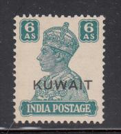 Kuwait MNH Scott # 68 ´KUWAIT´ Overprint On 6a George VI (India) - Koweït