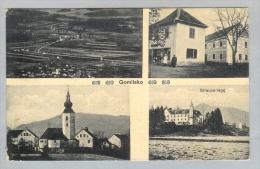 AK Slovenien Gomilsko 191?-08-14 Fotokarte Cukjati - Slovénie