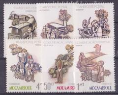 Mozambique N°934/939 - Neufs ** - Superbe - Mozambique