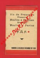 1 Plaquette Illustrée...FONDERIES & ATELIERS ... FLERS (Orne) Vis Pressoirs..Moulins à Pommes...Farine ( Agriculture...) - Livres, BD, Revues