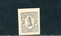NEW ZEALAND VICTORIA DIE PROOF 1891 - New Zealand