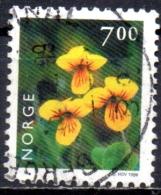 NORWAY 1997 Flowers -7k. - Yellow Wood Violet   FU - Gebraucht