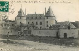 87 VERNEUIL MOUTIERS - LA TOUR AUX PAULMES - Zonder Classificatie