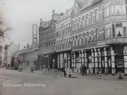 "Rotterdam  ZELDZAME KAART !!!! Fotokaart "" Sumatraweg "" - Rotterdam"