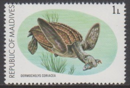 1980 - MALDIVES - Y&T 798 - Dermochelys Coriacea (MNH/**) - Maldives (1965-...)