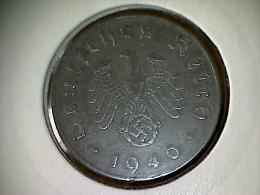 Allemagne 10 Pfennig 1940 A - 10 Reichspfennig