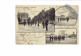 Militaria - Fête Du 37 ème Régiment D'Infanterie - 25juin 1903 - Soldats - Inspection 37e 1901 / 37e 1874 - 7 Cliché J.G - Personen