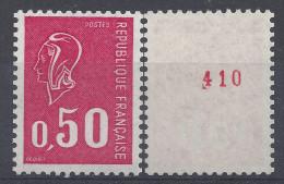 BEQUET N° 1664b - N° Rouge De ROULETTE - NEUF SANS CHARNIERE - LUXE - Roulettes