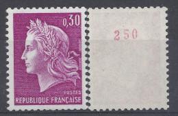 CHEFFER N° 1536b - N° Rouge De ROULETTE - NEUF SANS CHARNIERE - LUXE - Roulettes