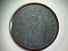 Allemagne 10 Pfennig 1942 A - 10 Reichspfennig