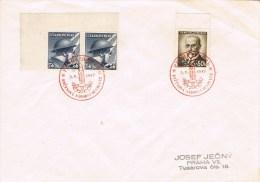 12505. Carta PRAHA (Checoslovaquia) 1947. Aniversario Revolucion - Checoslovaquia