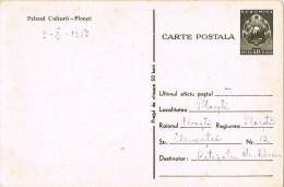 12507. Entero Postal 40 Bani PLOESTI (Rumania) 1953. Palacio Cultura - Enteros Postales