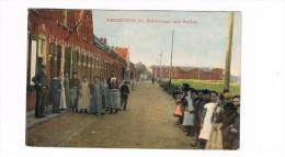 Terneuzen De Feijterstraat Met Station In Kleur Topkaart - Terneuzen