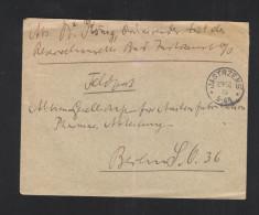 Dt. Reich Feldpost Brief 1915 Jastrzemb Polen Poland Jastrzębie-Zdrój - Deutschland