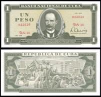 Banco Central 1 PESO 1979 J.Marti P 102b UNC