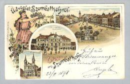 AK Ungarn Szombathely 1898-02-25 Litho Regel & Krug - Hongrie