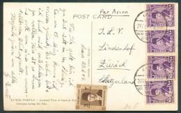 EGYPT Postal History PPC HOTEL WINTER PALACE - 10160 - Egypt