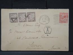 FRANCE- DETAILLONS ENSEMBLE DE LETTRES TAXEES A VOIR SCANS    LOT P3725 - Marcophilie (Lettres)