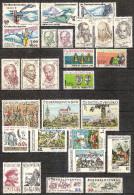 Czechoslovakia 1970 - Year Set - Full Years