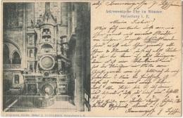 STR 146 - CPA STRASBOURG - Cathédrale - Horloge Astronomique 1901 - Strasbourg