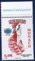 MONACO 2007          Chanteuse  Joséphine Baker   1v - Monaco
