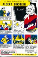 """LE DESTIN EXEMPALIRE DE  ALBERT EINSTEIN    N°3  COLLECTION """"SANTÉ  SOBRIÉTÉ"""" - Papel Secante"""