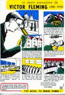 """LE DESTIN EXEMPLAIRE DE VICTOR FLEMING  N°4  COLLECTION """"SANTÉ  SOBRIÉTÉ"""" - Buvards, Protège-cahiers Illustrés"""