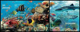 nig15208ab Niger 2015 Fishs 2 s/s