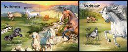 nig15209ab Niger 2015 Horse 2 s/s