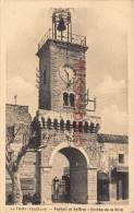 (84) LE THOR - Portail Et Beffroi - Entrée De La Ville - Dos Vierge - 2 SCANS - Francia