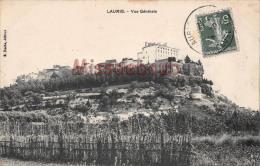 (84) LAURIS - Vue Générale - 2 SCANS - France