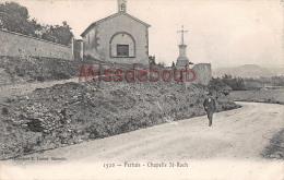 (84) PERTUIS - Chapelle Saint St Roch - 2 SCANS - Pertuis