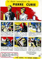 """LE DESTIN EXEMPLAIRE DE  PIERRE CURIE   N°7 DE LA COLLECTION  """"SANTÉ SOBRIÉTÉ"""" - Collections, Lots & Series"""