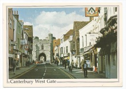 K3661 Canterbury West Gate - Auto Cars Voitures / Viaggiata 1990 - Canterbury