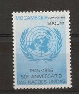 MOZAMBIQUE 50 years U.N.O.