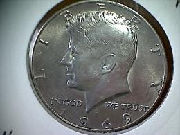 Etats Unis 1/2 Dollar 1969 D - Kennedy - Federal Issues