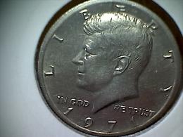Etats Unis Kennedy 1/2 Dollar 1971 - 1964-…: Kennedy