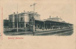 BELGIQUE - LIEGE - AMAY - Bahnhof HERBESTHAL - Amay