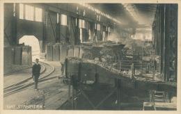 AUTRICHE - GRAZ - Stahlwerk - Foto. HELFF LICHTBILD , Film A. G. - 1924 - Graz