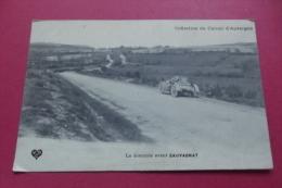 Cp Circuit D'auvergne La  Descente Avant Sauvagnat - Sport Automobile