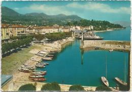 K3673 Verbania - Intra - Lago Maggiore - Il Porto - Barche Boats Bateaux / Viaggiata 1963 - Verbania
